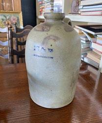 Stoneware Jug $65.00