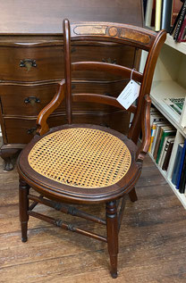 Single Caned Seat Chair $85.00
