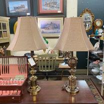 Pair Stiffel Lamps $165.00