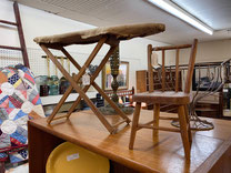 Child's Iron Board $25.00  Miniature Chair  $25.00
