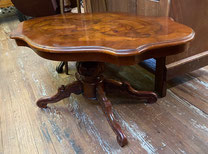 Inlaid Scalloped Edge Coffee Table $249.00