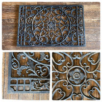 Cast Iron Door Mat $55.00