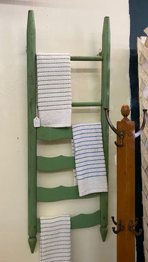 Towel Rack from Chair Back $40.00