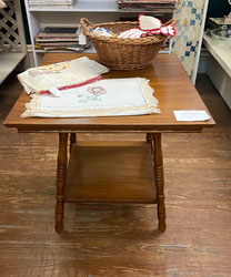 Square Four Legged Occasional Table $45.00