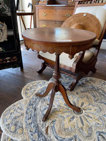 Four Legged Pedestal Table $55.00