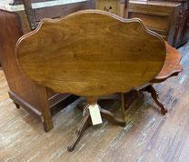 Tilt Top Urn Pedestal Tea Table $298.00
