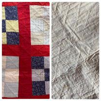 9-Square Quilt Reds & Blues $59.00