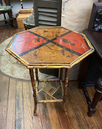 Octagon Topped Table $220.00