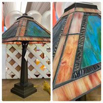 Mission Style Table Lamp $145.00