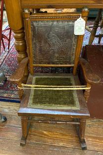 Antique American Oak Child's Rocker $225.00