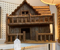 Miniature Log Cabin $48.00