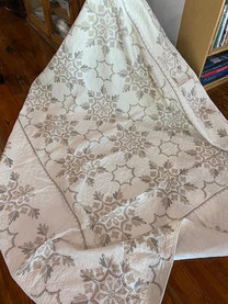 Quilt with Needlework $125.00