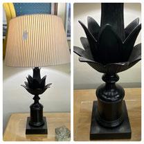 Black Iron Table Lamp $49.00