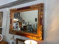 "Large Ornate 34 1/2"" x 46"" Mirror $395.00"