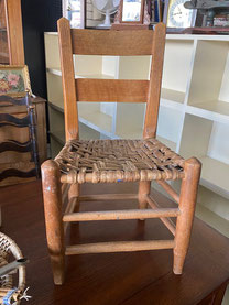 Child's Chair Rush Seat $25.00