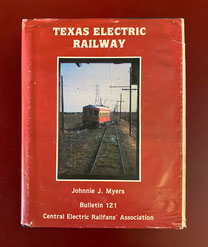 Texas Electric Railway by Johnnie Myers $59.00