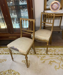 French Chairs Pair $225.00