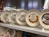 Vintage Recipe Pie Plates $12.50-$24.00 each