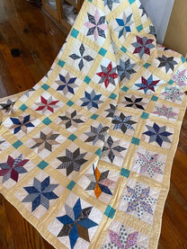 Quilt with Stars $125.00