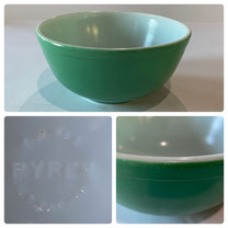 Pyrex Green Bowl  $25.00