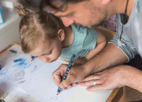 Fotoshootings in Hamburg - Papa und Tochter