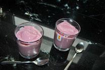 Detox Rezepte / Himbeer-Eis / Nachtisch / Nice Cream / Bannanen