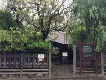 石川啄木の新婚時代の家。今でも大切に保存されている。