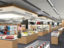 Warenhausiinenarchitektur Design, Ladenbau, Innenarchitektur, Shop, Kaufhaus, Renovation, Ausbau, Umbau, Branding, Kosmetik, Mode, Shopping Erlebnis, Beauty
