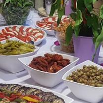 Mittelmeer Vorspeisenbuffet