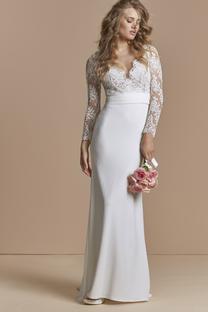 Robe de mariée Abeille avec top - Atelier Emelia