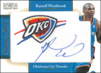RUSSELL WESTBROOK / Signature Patches - No. 12  (#d 17/25)