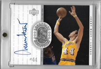 JERRY WEST / Legendary Signatures - No. JW