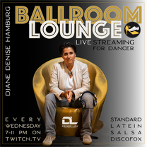 Jeden Mittwoch von 19-22 Uhr Ballroom-Lounge mit DJane Denise L' - Neuzugänge & Lieblingssongs werden von Ihr vorgestellt