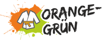 Fachsportschule - Gürtel Logo für Orange-Grün