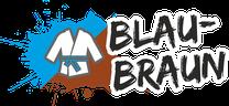 Fachsportschule - Gürtel Logo für Blau-Braun