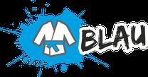 Fachsportschule - Gürtel Logo für Blau