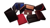 Portemonnaies für Damen und Herren aus hochwertigem Rindleder in verschiedenen Farben. Geldbörsen für jeden Geschmack. Als Hochformat und Querformat erhältlich.
