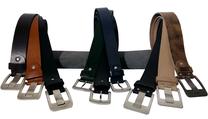 Vollrindledergürtel aus einem Stück Leder für Damen und Herren. Elegant, sportlich, leger, modisch und stilvoll für den Sommer,