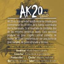 ak20 semillas marihuana colombia