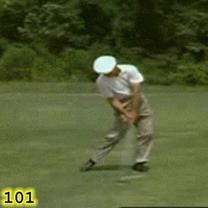 スポーツ ゴルフ フォーム