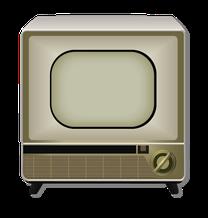 テレビ脚付