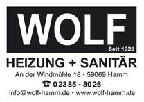 Logo WOLF Heizung + Sanitär