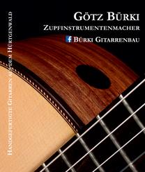 Anzeige Gitarrenbau Götz Bürki: https://www.buerki-gitarren.de