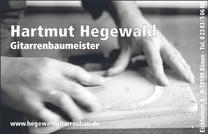 Anzeige Hegewald Gitarrenbau