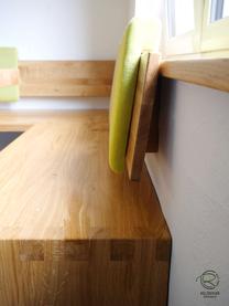 hochwertige Stoffauswahl für Rückenpolster zum Einhängen an Rückenlehne für Eckbank mit hochwertiger Eckverbindung Fingerzinken u. Sitzmulde auf der Sitzfläche