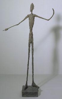 アルベルト・ジャコメッティ「Man Pointing 」(1947年)