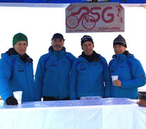Bewährtes Team - Arno, Axel, Günther, Elmar