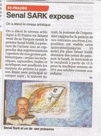 Senol Sak, Le Petit Journal 16/8/2012