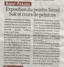 Senol Sak, La Délêche 16/8/2012