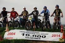 10.000 Teilnehmer in 10 Jahren! Trialgarten Ohlsdorf